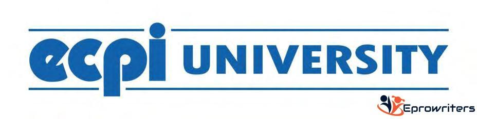 BUS 121 Unit 3 Assignment - ECPI University