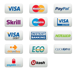 We Accept Payments